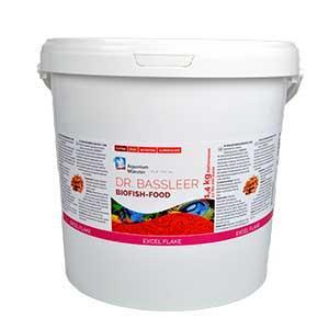 Dr. Bassleer Biofish-Food, EXCEL FLAKE, Inhalt: 1,4kg