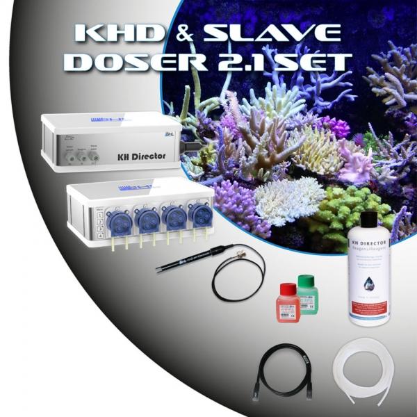 GHL KHD & Slave Doser 2.1 Set Weiß
