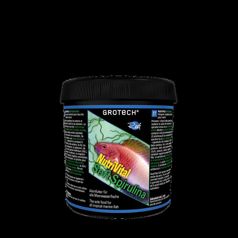 GroTech NutriVital Soft Spirulina 0,6-0,9mm, 175 g