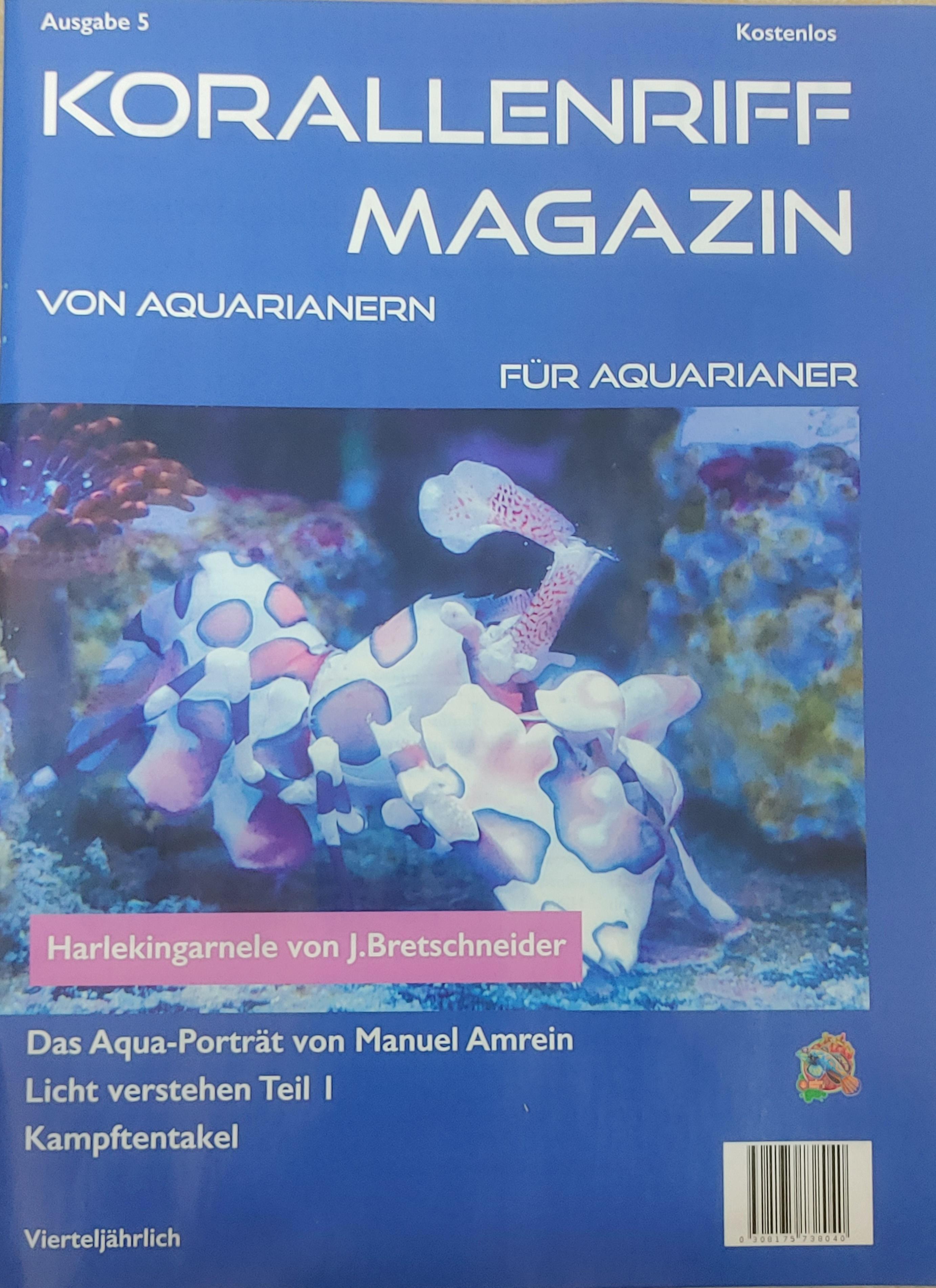 Korallenriff Magazin - Ausgabe 5