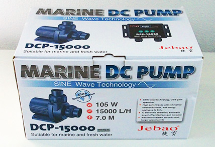 Jecod/Jebao DCP-15.000 Förderpumpe inkl. Controller