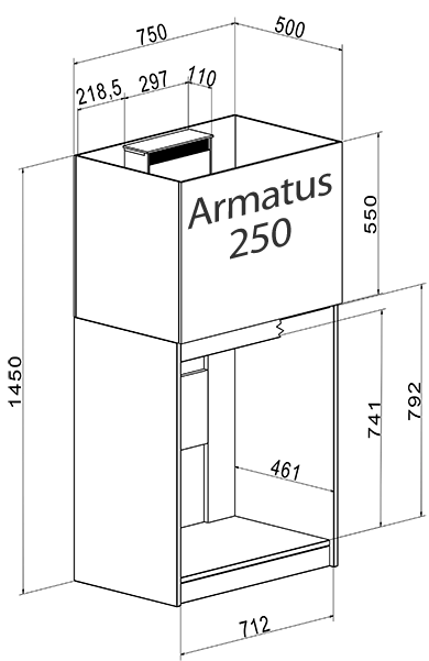 Aqua Medic Armatus 250 weiß