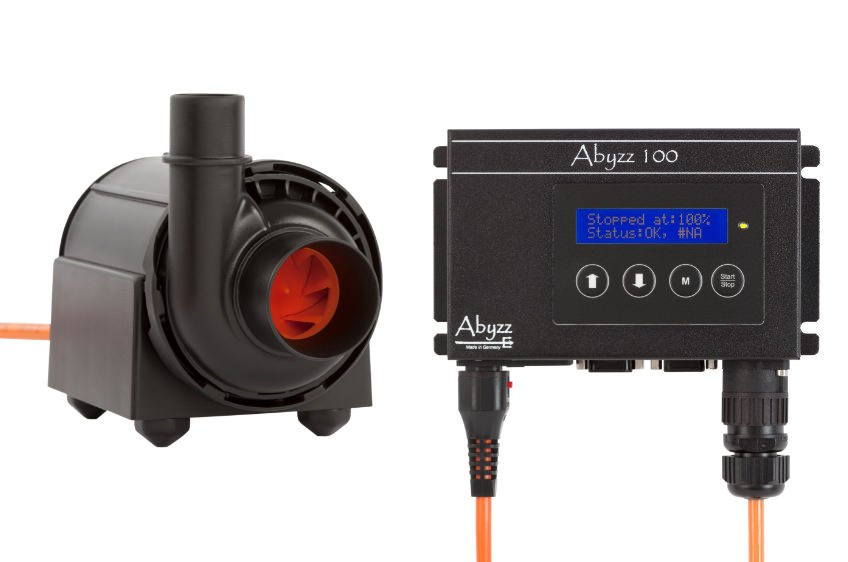 Abyzz  A100 Hochleistungs-Förderpumpe