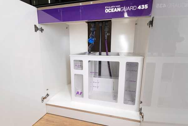 Aquaforest OCEANGUARD 435- Meerwasserkombination - 435 Liter Ultra White Palettenversand