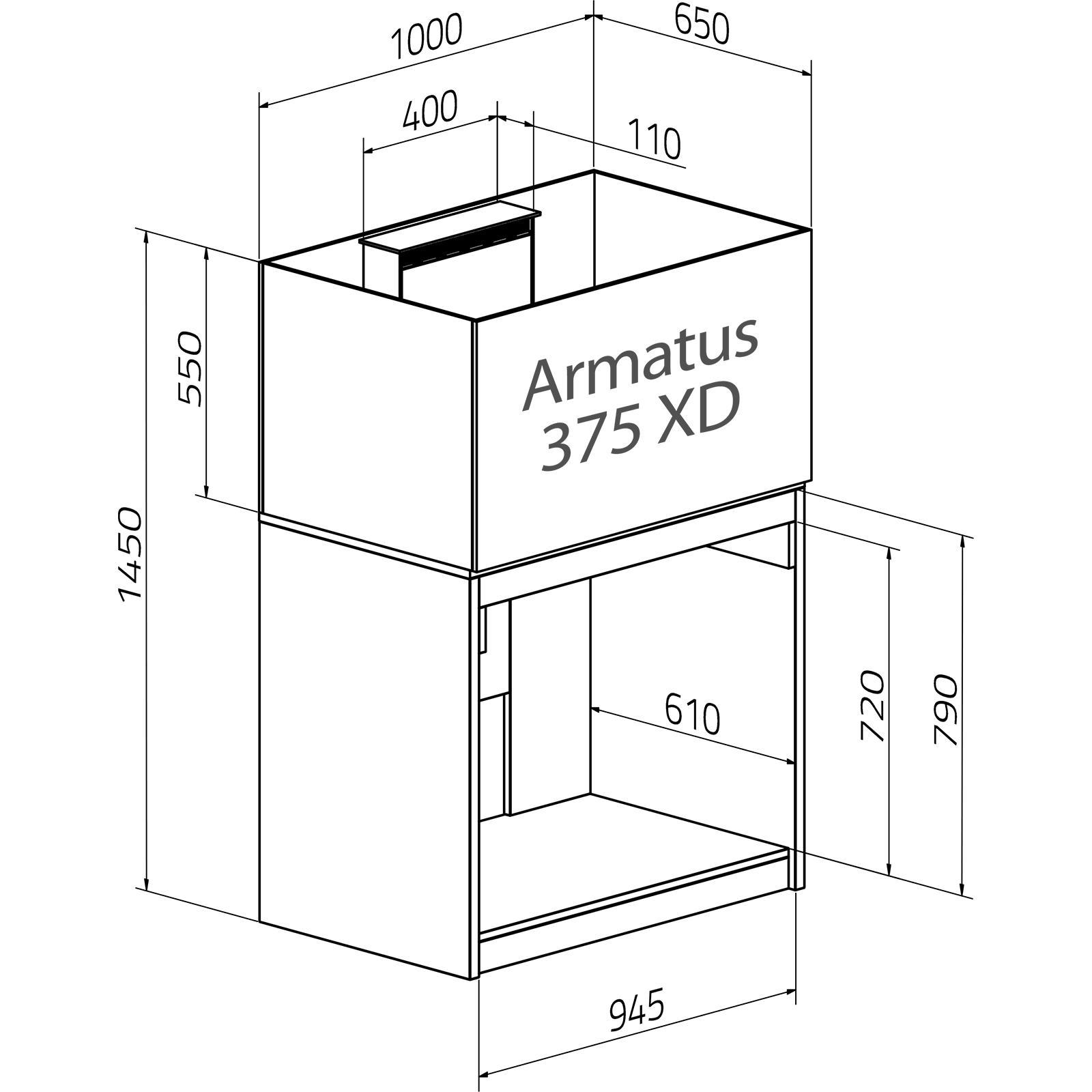 Aqua Medic Armatus 375 XD weiß