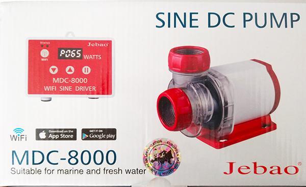Jebao  DC Pumpe MDC 8000 mit Wifi