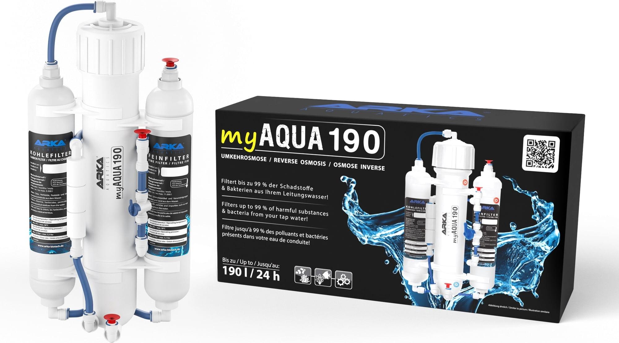 ARKA myAqua190 - Umkehrosmoseanlage bis zu 190 l/Tag