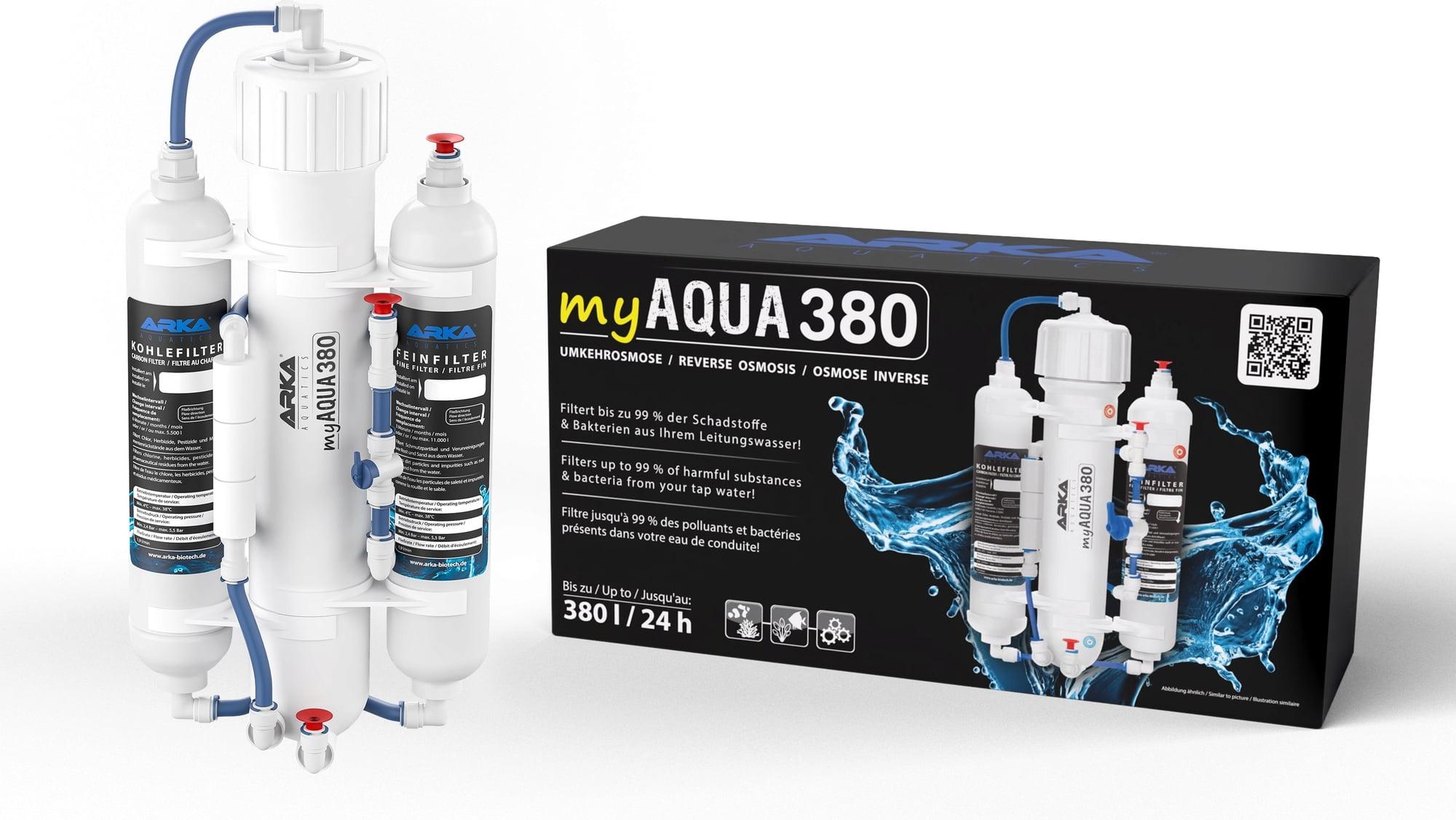 ARKA myAqua380 - Umkehrosmoseanlage bis zu 380 l/Tag