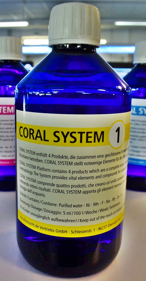 Korallenzucht Coral System 1 - Coloring Agent 1 250ml