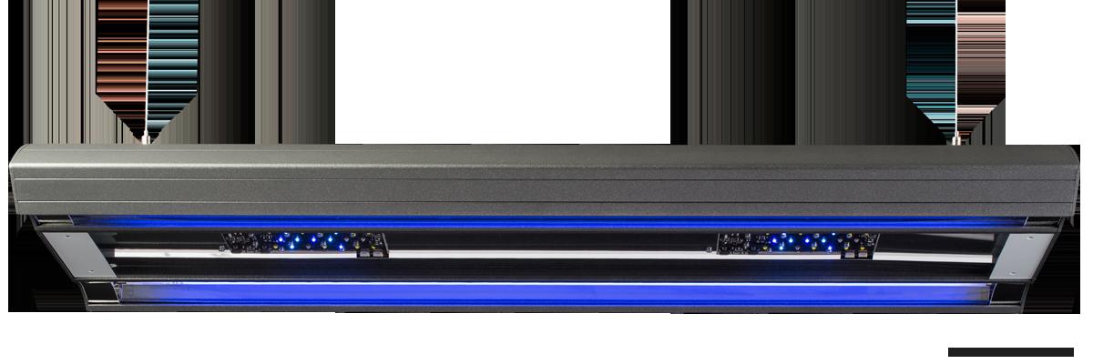 Giesemann Aurora Hybrid 600 mm 85w LED+4x24w T5 polarweiß