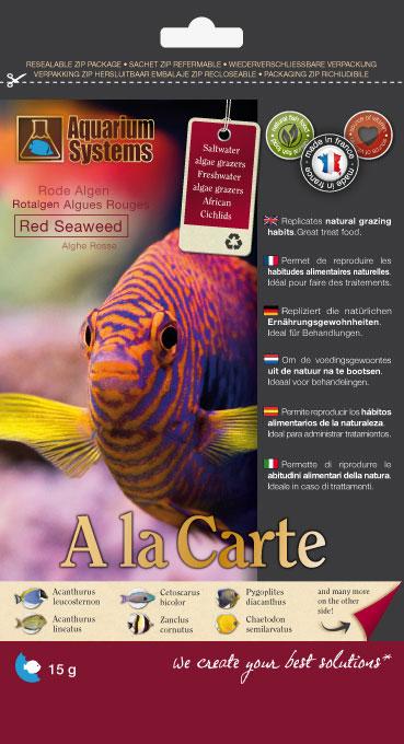 Aquarium Systems A la Carte - Nori Algen Rot / Red Seaweed 15g