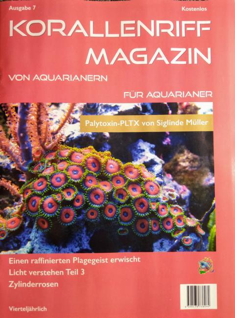 Korallenriff Magazin - Ausgabe  7