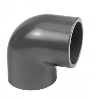 VDL PVC  - Bogen 90° d50 mm