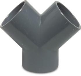 PVC Y-Stück 63 mm