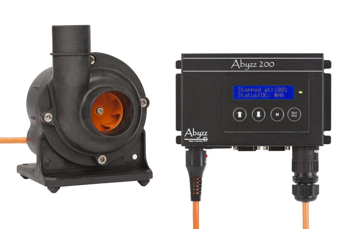 Abyzz  A200 Hochleistungs-Förderpumpe