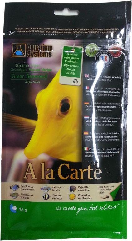 Aquarium Systems Ala Carte grüne Algen 15g