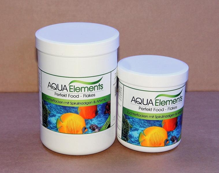 Flockenfutter, 1 Ltr. / 120 g Spirulinaalgen, Artemia Gemich mit Vitamine
