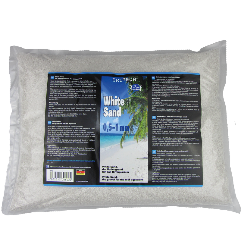 GroTech White Sand 0,5-1mm