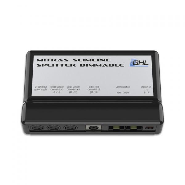 GHL Mitras Slimline Splitter RS232, dimmbar