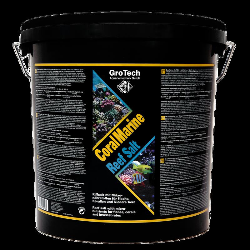 GroTech CoralMarine ReefSalt 3,5kg für 100 Liter