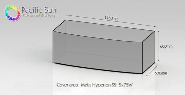 Pacific Sun Metis Hyperion S2 (SMT) 2x75W weiß