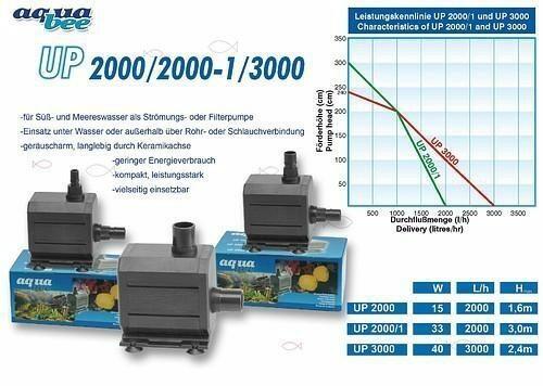 Aquabee UP 3000 Universalpumpe