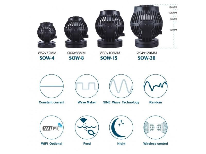 Jecod Stream Pump SOW-20 - Strömungspumpe
