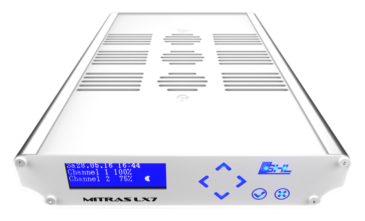 GHL Mitras LX 7206 LED Beluchtung Silber/Weiß
