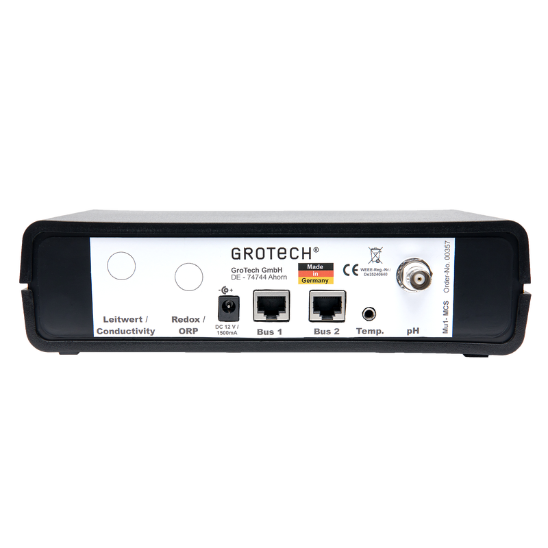 GroTech MU1 - MCS incl. pH+Temperaturmessung
