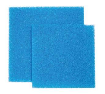 Zoobest Filterschaumblock 50 x 50 x 5 cm, blau, 20 ppi, mittel