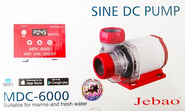Jebao MDC-6.000 Förderpumpe mit Wifi