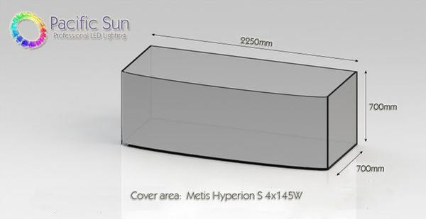 Pacific Sun Metis Hyperion S (SMT) 4x145W weiß