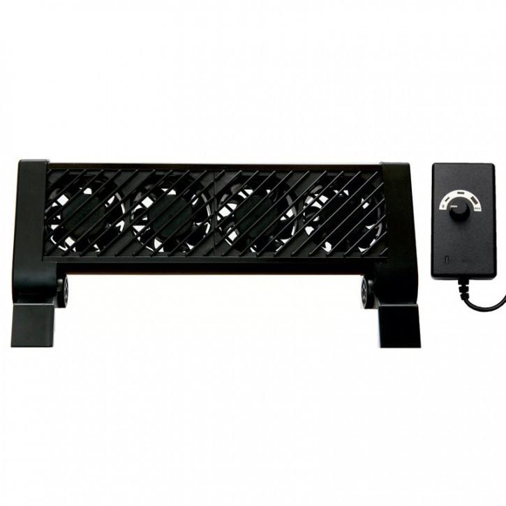 GroTech Cool Breeze 4-fach Aquarien-Lüfterbatterie / regelbar