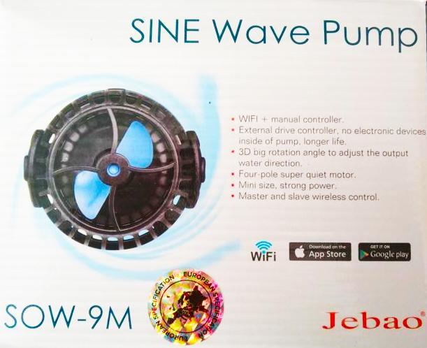 Jebao Stream Pump SOW-9M - Strömungspumpe mit Wifi