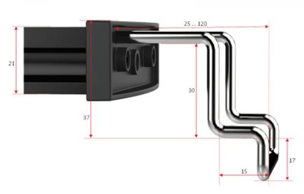 GHL Mitras Lightbar 2 , 40 cm Actinic