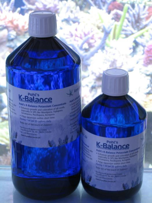 Korallenzucht  Pohl's  K-Balance  Kaliummix Konzentrat 500ml