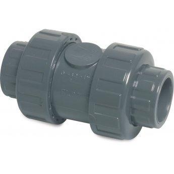 PVC-U Rückschlagventil 25 mm Klebemuffe