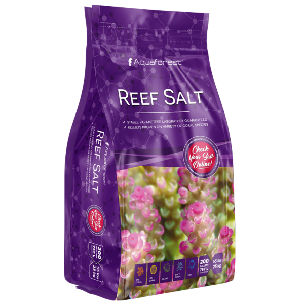 Aquaforest Reef Salt 25 kg Bag (im Beutel)