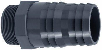 """PVC Druckschlauchtülle B - d=50 mm x 1 1/2"""""""
