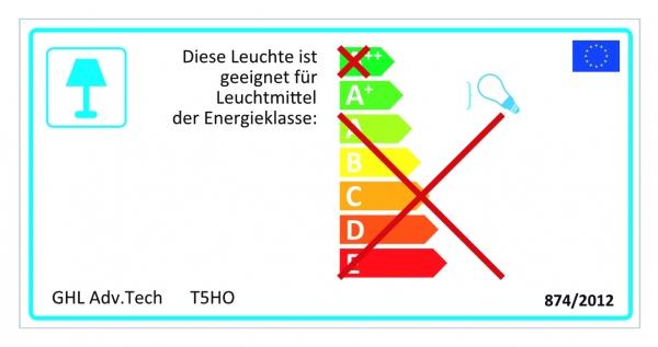 """GHL Hybridleuchte T5HO Aquatic Life 4 x 80W, 1524 mm / 61"""", weiß"""