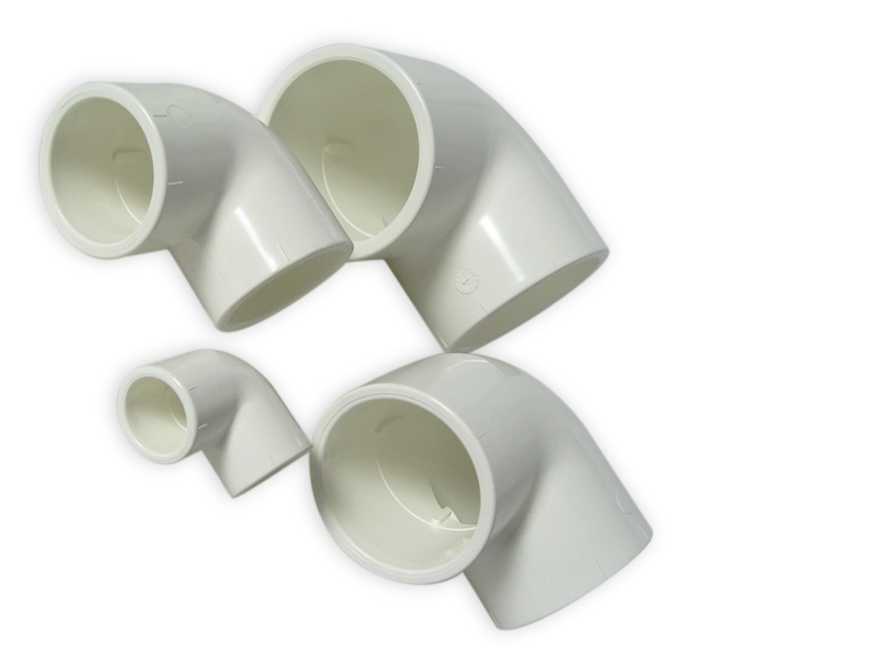 Royal Exclusiv PVC Weiß Winkel 90°, 40 mm
