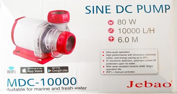 Jebao MDC-10.000 Förderpumpe mit Wifi