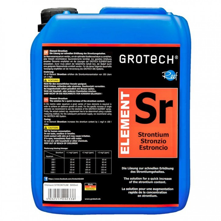 GroTech Element Strontium 5000 ml