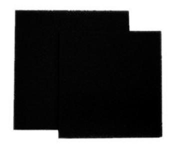 Zoobest Filterschaumblock 50 x 50 x 5 cm, schwarz, 20 ppi, mittel