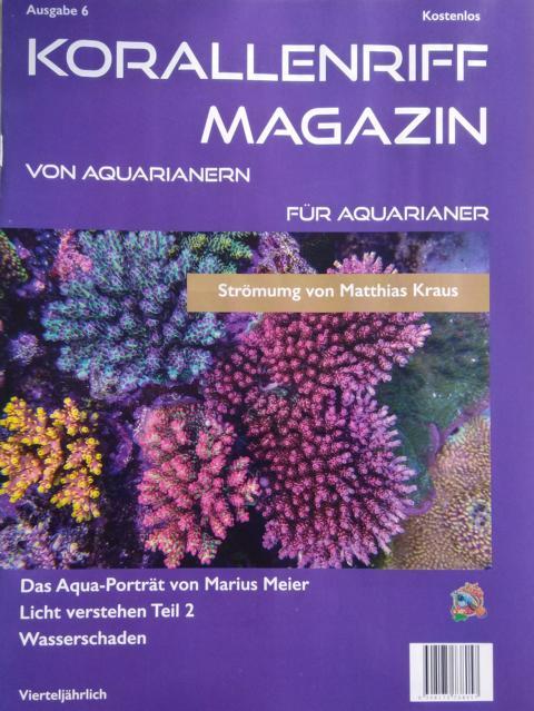 Korallenriff Magazin - Ausgabe 6