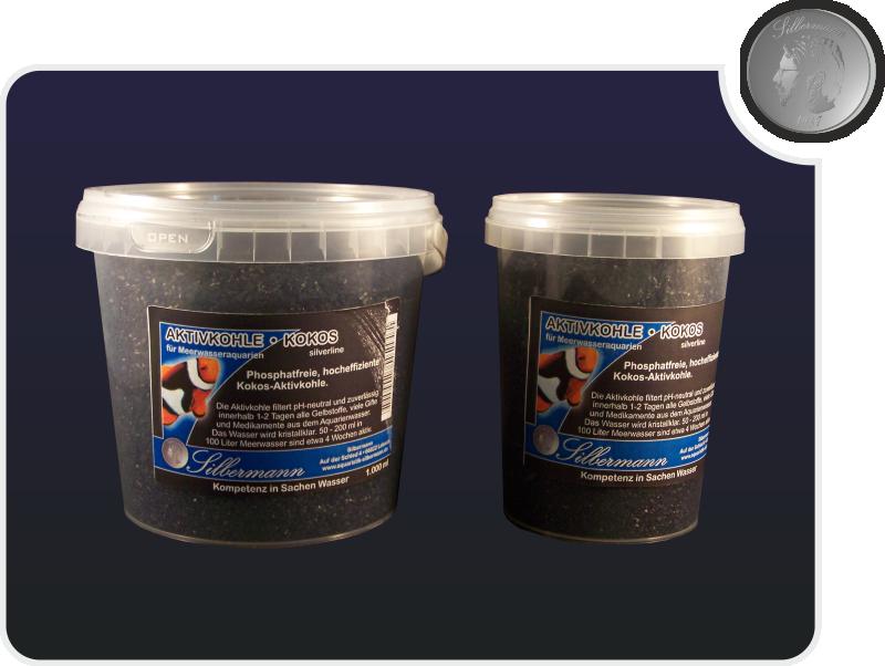 Silbermann Kokos-Kohle 5000 ml Meerwasser